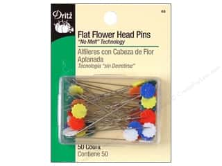 Flat Flower Head Pins by Dritz 2 in. 50 pc.