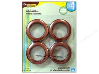Dritz Home Curtain Grommets 1 9/16 in. Round Copper 8pc