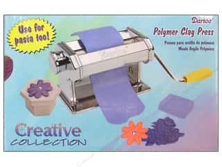 clay cutter: Darice Pastabike Pasta Machine For Clay Model 150