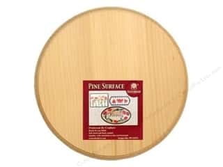 Walnut Hollow Pine Plaque 8 in. Circle