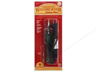 Walnut Hollow Wood Basswood Country Round: Walnut Hollow Creative Woodburner Value Pen with 4 Points
