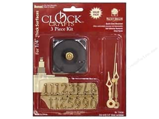 Walnut Hollow Clock Kit 1/4 in. 3 pc.