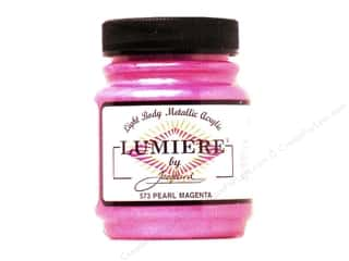 craft & hobbies: Jacquard Lumiere Paint 2.25 oz. #573 Pearl Magenta