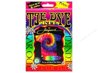 craft & hobbies: Jacquard Tie Dye Kit Funky-Groovy
