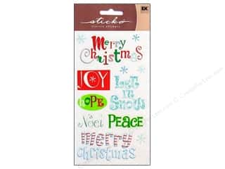 scrapbooking & paper crafts: EK Sticko Stickers Merry Christmas