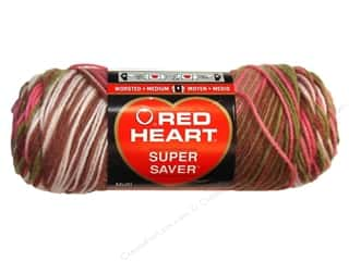 Red Heart Super Saver Yarn #0972 Pink Camo 244 yd.