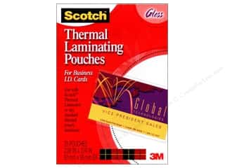 Scotch: Scotch Laminating Pouch Thermal Business Card 20pc