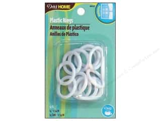 Plastic Rings by Dritz Home 1 in. 14pc.
