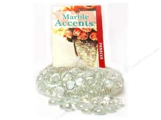 decorative floral: Panacea Mini Glass Gems 12 oz. Lustre Clear