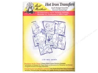 yarn & needlework: Aunt Martha's Hot Iron Transfer #3738 Baby Animals