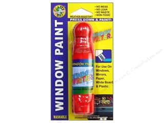 Crafty Dab Window Paint Writer 1.6 oz. Red