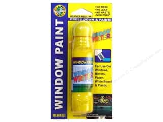 Crafty Dab Window Paint Writer 1.6 oz. Yellow