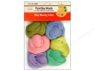yarn: Colonial Needle Paint Box Wools 6 pc. Misty Morning
