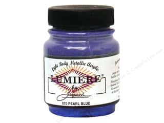 Jacquard Lumiere Paint 2.25 oz. #570 Pearl Blue