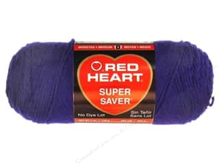 yarn & needlework: Red Heart Super Saver Yarn 364 yd. #0387 Soft Navy