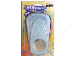 Uchida Clever Lever Super Jumbo Craft Punch 2 in. Circle