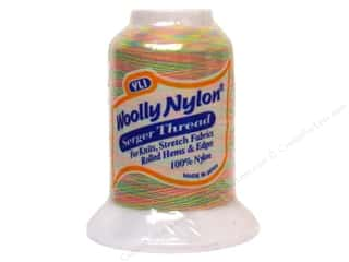 YLI Woolly Nylon Serger Thread 1094 yd. #50 Variegated Pastel