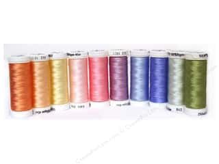 Sulky: Sulky Rayon Thread 40 wt. Top 10 Sampler Pastels