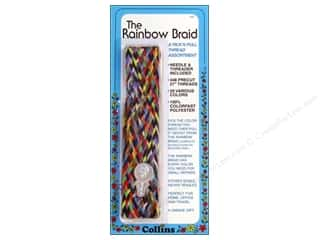 Quilting Collins: Rainbow Braid Thread by Collins 1 in. Flat