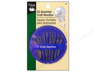 Craft Needles Assorted by Dritz 25pc