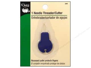 elastic: Needle Threader with Cutter by Dritz