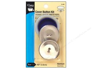 Buttons: Dritz Cover Button Kit - 1 1/2 in.