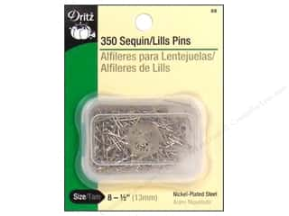Sequin Pins by Dritz Size 8 350 pc.