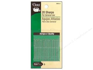 Dritz Sharps Hand Needles Size 9 20 pc.