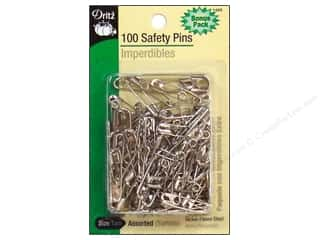safety pin: Safety Pins Bonus Pack by Dritz Assorted Nickel 100pc
