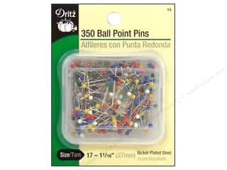 Ball Point Pins by Dritz Size 17 350pc.