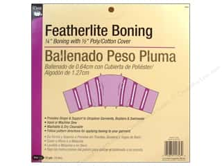 Featherlite Boning by Dritz White 1/4 in x 12 yd