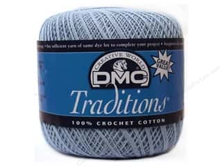 yarn & needlework: DMC Traditions Crochet Cotton Size 10 #5800 Sky Blue