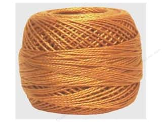 yarn & needlework: DMC Pearl Cotton Ball Size 8 #436 Tan (10 balls)