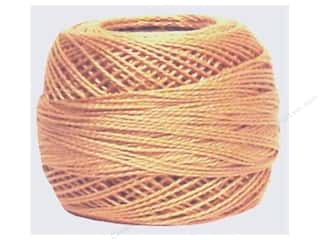 yarn & needlework: DMC Pearl Cotton Ball Size 8 #437 Light Tan (10 balls)