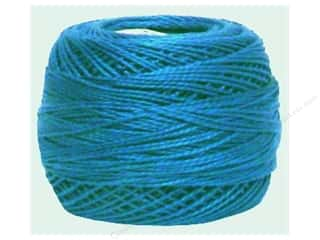yarn: DMC Pearl Cotton Ball Size 8 #0517 Medium Wedgewood (10 balls)