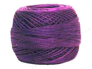 yarn & needlework: DMC Pearl Cotton Ball Size 8 #550 Very Dark Violet (10 balls)