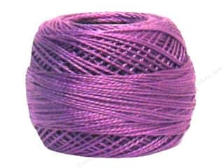yarn & needlework: DMC Pearl Cotton Ball Size 8 #553 Violet (10 balls)