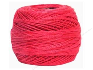 yarn & needlework: DMC Pearl Cotton Ball Size 8 #602 Medium Cranberry (10 balls)