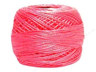 yarn: DMC Pearl Cotton Ball Size 8 #0603 Cranberry (10 balls)