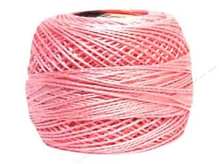 yarn: DMC Pearl Cotton Ball Size 8 #0605 Very Light Cranberry (10 balls)