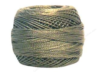 yarn & needlework: DMC Pearl Cotton Ball Size 8 #642 Dark Beige Gray (10 balls)