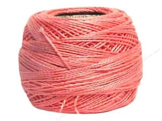 yarn: DMC Pearl Cotton Ball Size 8 #0776 Medium Pink (10 balls)