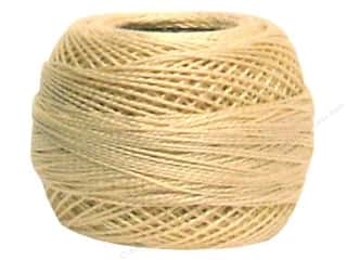 yarn & needlework: DMC Pearl Cotton Ball Size 8 #712 Cream (10 balls)