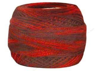 yarn & needlework: DMC Pearl Cotton Ball Size 8 #115 Variegated Garnet (10 balls)