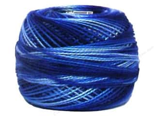 yarn & needlework: DMC Pearl Cotton Ball Size 8 #0121 Variegated Delft Blue (10 balls)