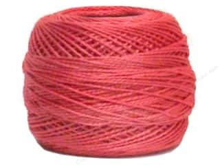 yarn & needlework: DMC Pearl Cotton Ball Size 8 #335 Rose (10 balls)