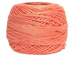 yarn & needlework: DMC Pearl Cotton Ball Size 8 #352 Light Coral (10 balls)