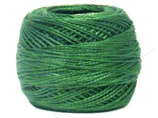 yarn & needlework: DMC Pearl Cotton Ball Size 8 #367 Dark Pistachio Green (10 balls)