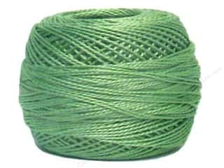 yarn & needlework: DMC Pearl Cotton Ball Size 8 #368 Light Pistachio Green (10 balls)