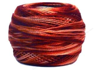 mettler mercerized cotton thread: DMC Pearl Cotton Ball Size 8 #69 Variegated Terra Cotta (10 balls)